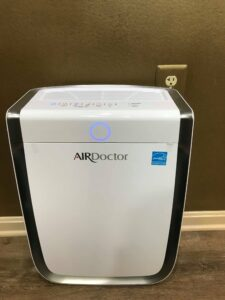 Air Purifier Used to Decrease Spread of Covid-19